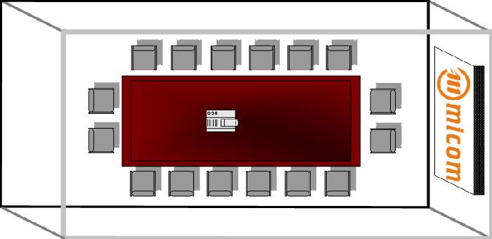 多功能会议室设计方案