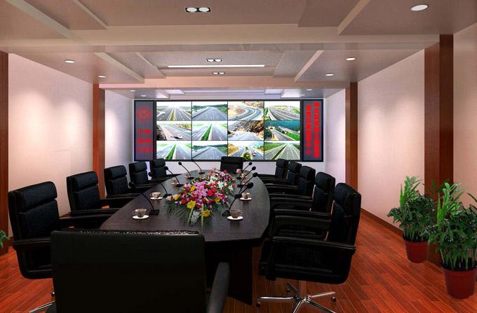 应用我们明控的中控系统, 无线会议系统和监控矩阵来布置.图片